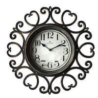 12-inch Indoor Arts Clock