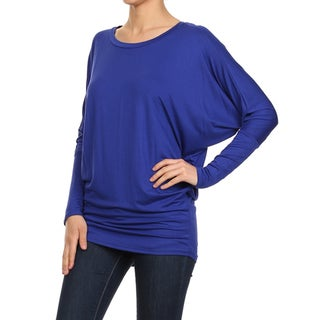 Women's Dolman Solid Top