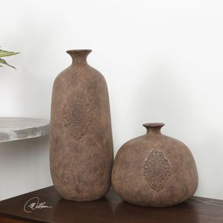 Frederico Rustic Vases (Set of 2)