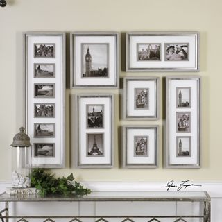Seine Gray Oak Photo Collage (Set of 7)
