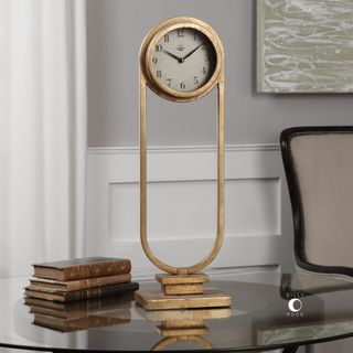 Alard Gold Table Top Clock