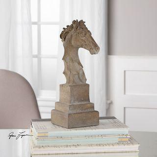 Franco Horse Head Sculpture
