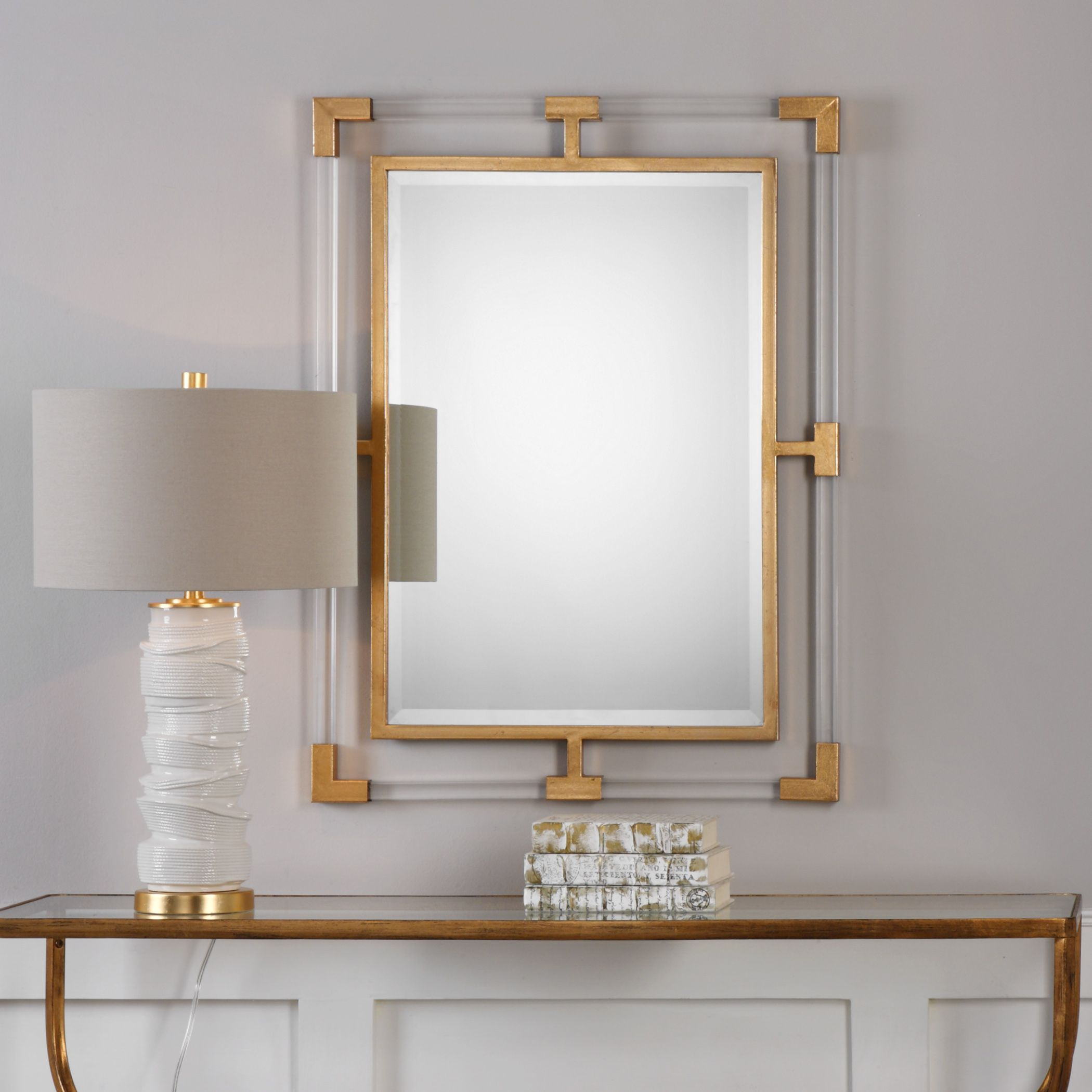 gray wall mirror contemporary bathroom wall buy mirrors online at overstockcom our best decorative accessories deals