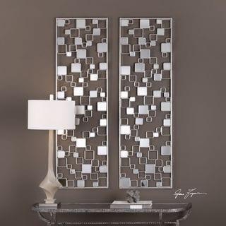 Tauria Modern Mirrored Wall Art