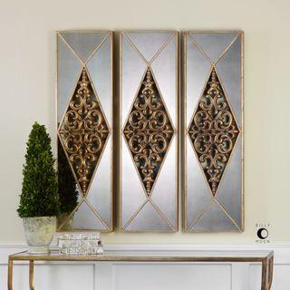 Serrano Mirrored Wall Art