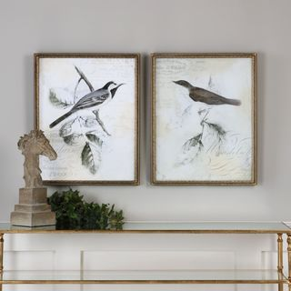 Rustic Gould Framed Print (Set of 2)