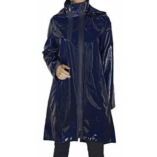Elie Tahari 'Molly' Navy Blue Trench Coat