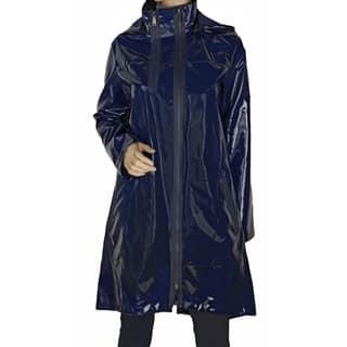Elie Tahari 'Molly' Navy Blue Trench Coat|https://ak1.ostkcdn.com/images/products/12514524/P19320804.jpg?impolicy=medium