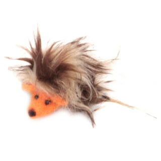Coastal Pet Rascals 3-inch Handcrafted Wool Hedgehog Cat Toy