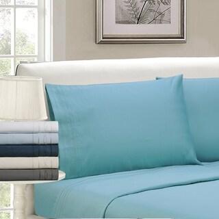 Superior 1000 Thread Count 100-percent Premium Long-staple Combed Cotton Embroidered Pillowcase Set