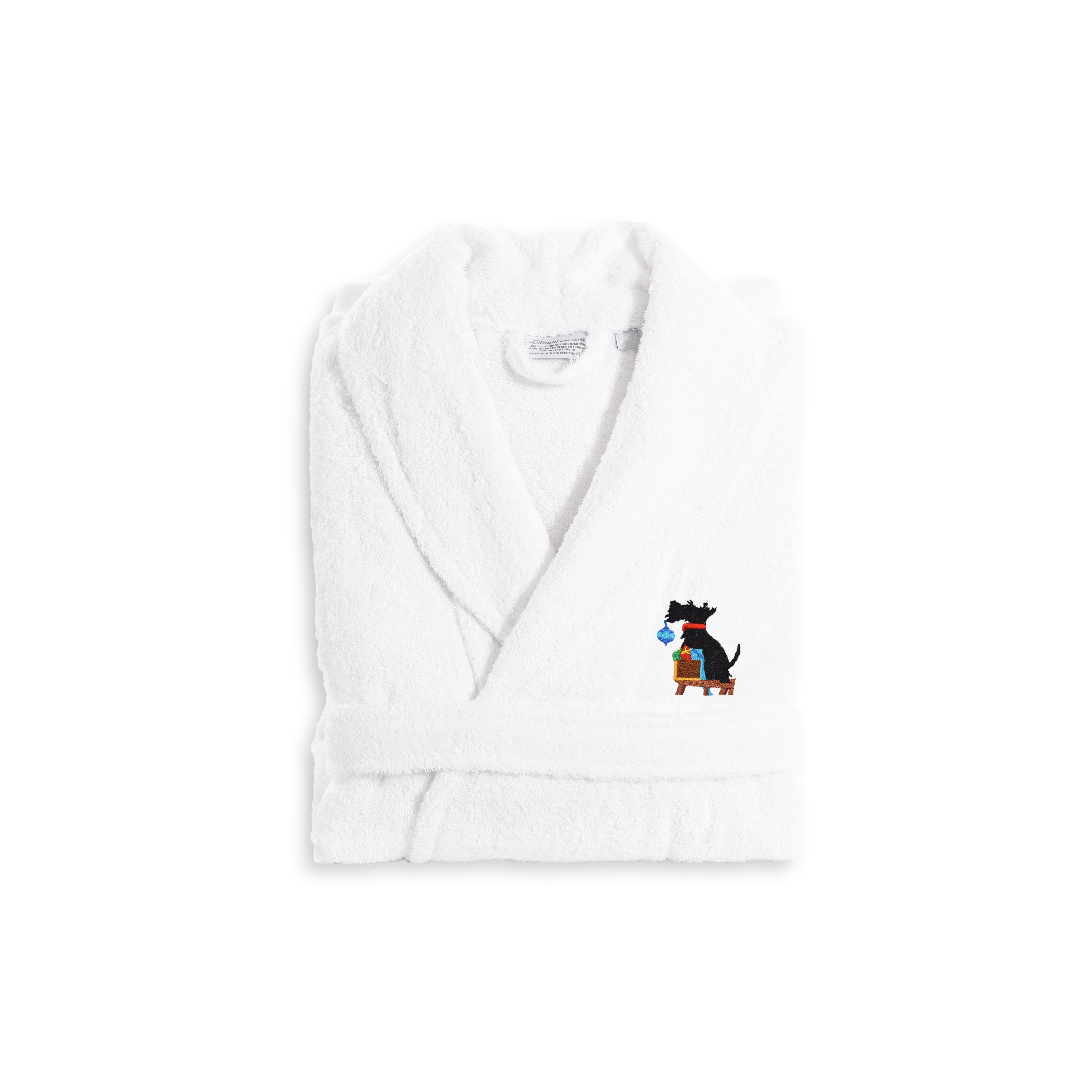 01aabdd506 Authentic Hotel and Spa Holiday Scottie Dog Terry Cloth Turkish ...