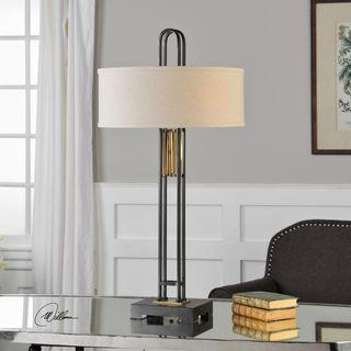 Vatra Black Iron Lamp (2 Light)