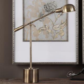 Herndon Brass Desk Lamp (1 Light)