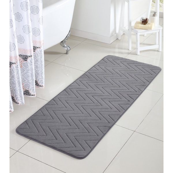 VCNY Chevron Bath Rug (24 x 60 inches) - Free Shipping On ...