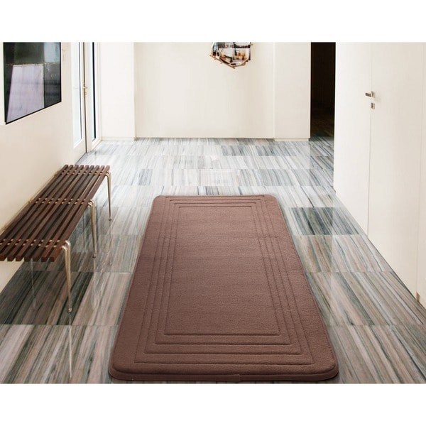 Bathroom Rug Runner X Green Thedancingparentcom - Bathroom rug runner 24x60 for bathroom decor ideas
