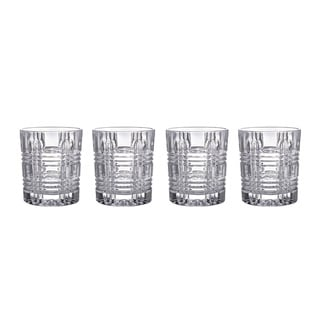 Fitz and Floyd Portland Clear 8-ounce Old-fashion Glasses (Set of 4)