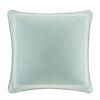Echo Design Indira Red Teal Cotton Euro Sham