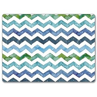 CounterArt Chevron Hardboard Placemat, Set of 2