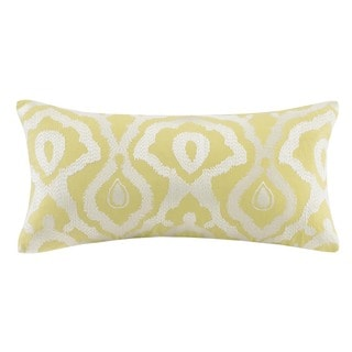 Echo Design Indira Red Yellow Cotton Oblong Pillow