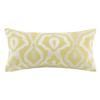 Echo Design Indira Red Yellow Cotton Oblong Pillow