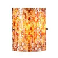 Chloe Mosaic Design 1-light Black Wall Sconce