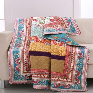 Greenland Home Fashions Thalia Reversible Throw