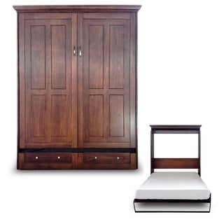 Queen Devon Chestnut Finish Murphy Bed