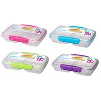 Sistema 21518 Split To Go Storage Container Assorted Colors