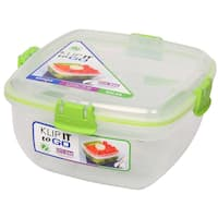 Sistema 21356 37 Oz Klip It Salad To Go Food Storage Container