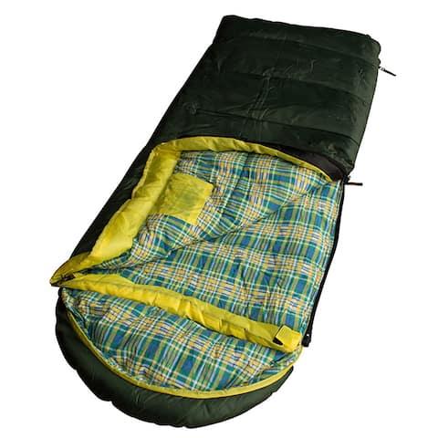Kid Grizzly Green Sleeping Bag