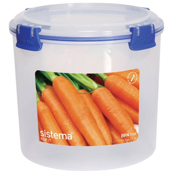 Sistema 1390 9 Cup Round Storage Container