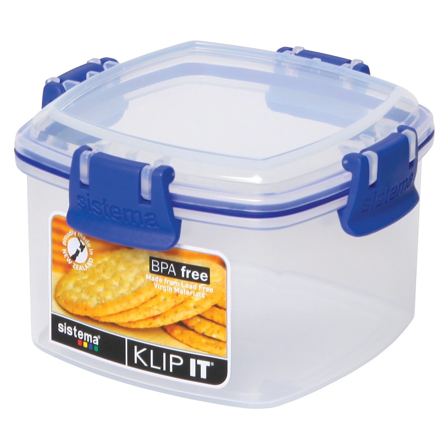 Sistema 1331 Small Clear Klip It Cracker Container (Crack...