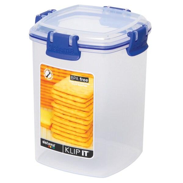 Shop Sistema 1332 Medium Clear Klip It Cracker Container