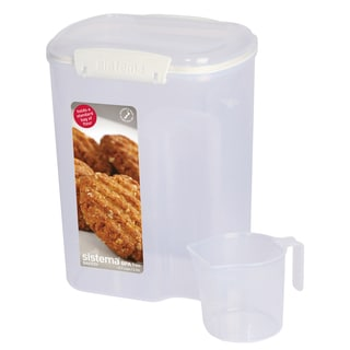 Sistema 1250 13.7 Cup Flour Container With Measuring Cup