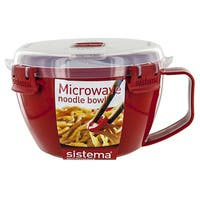 Sistema 1109 Microwavable Noodle Bowl Assorted Colors