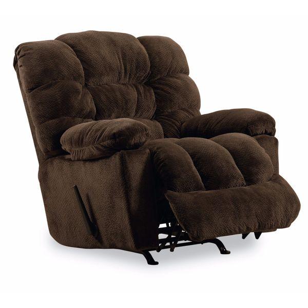 Shop Lane Furniture Lucas Chocolate Brown Recliner Free