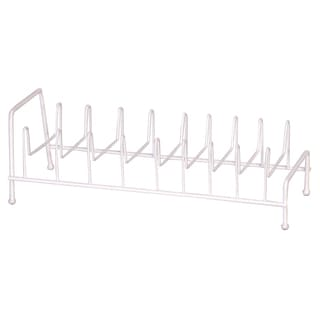 Grayline White Lid Rack Organizer