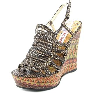 Two Lips Women's 'Chanelle' Multicolored Synthetic Sandals