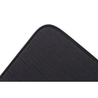"""Fox Run 41369 16"""" X 18"""" Black Dish Drying Mat"""