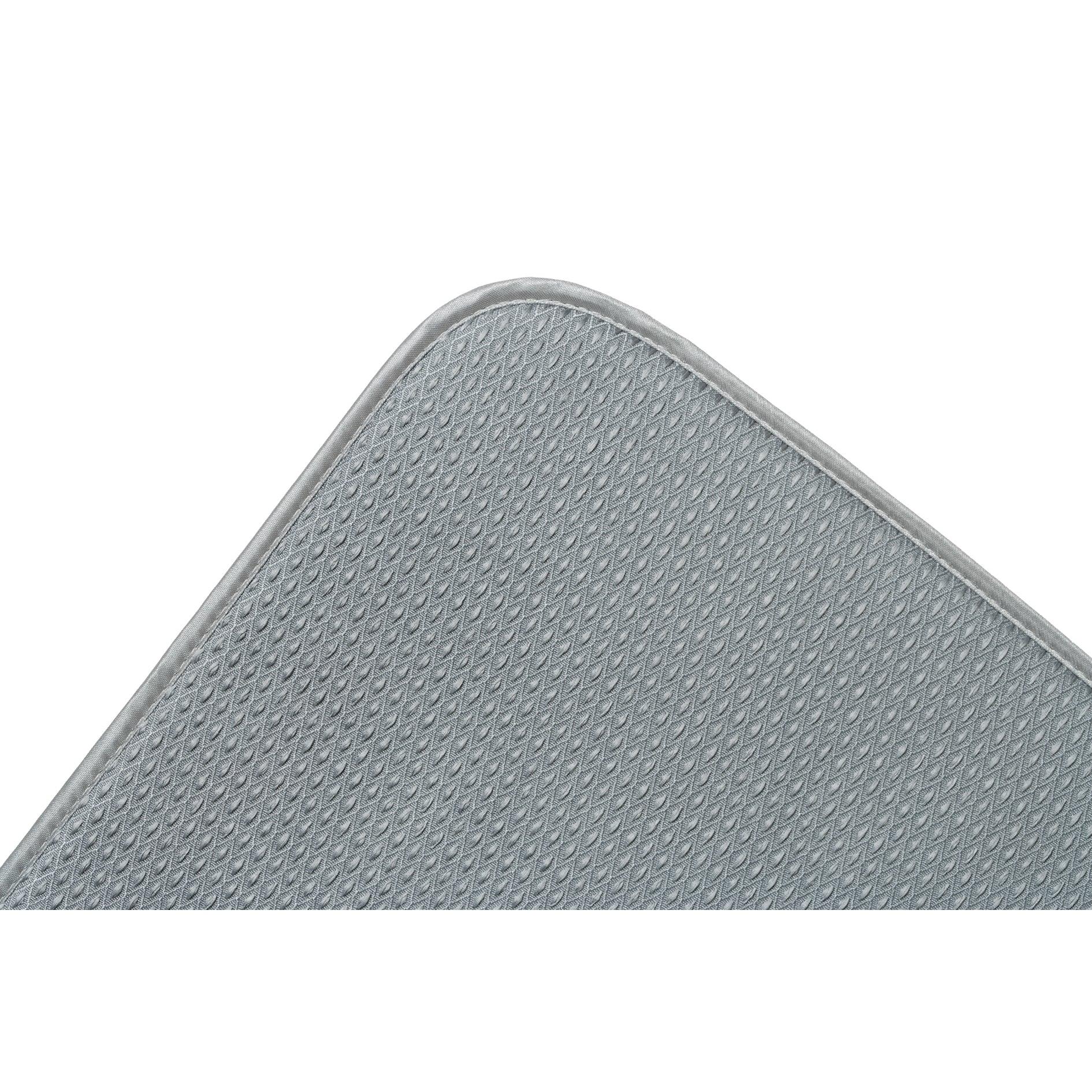 """Fox Run 41366 16"""" X 18"""" Grey Dish Drying Mat (16x18"""" Dryn..."""