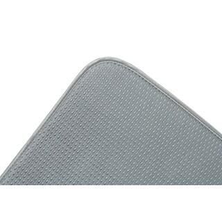 """Fox Run 41366 16"""" X 18"""" Grey Dish Drying Mat"""