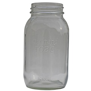 Orchard Road 507 16 Oz Orchard Road Wide Mouth Mason Jars 6-count