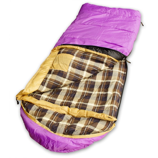 Kid Grizzly Purple Sleeping Bag