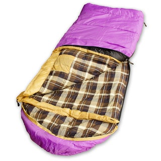 Kid Grizzly Purple Sleeping Bag