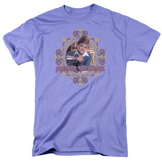 Murder She Wrote/Jessica Short Sleeve Adult T-Shirt 18/1 in Lavendar