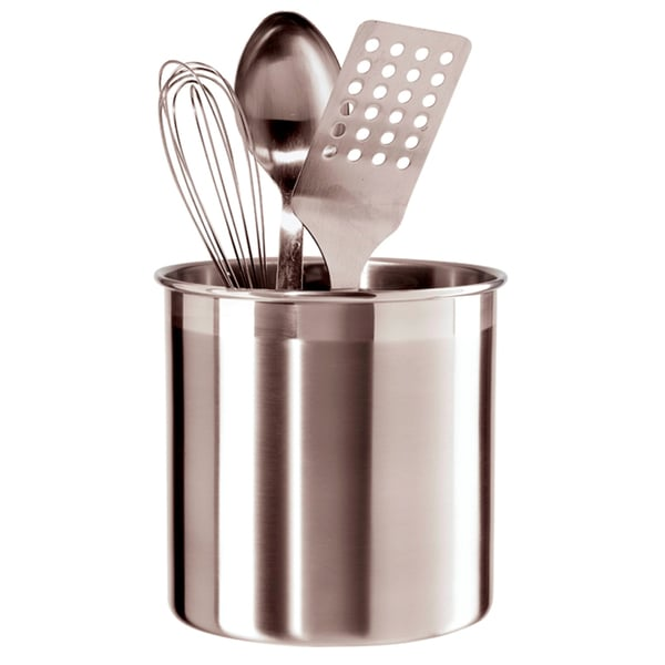 Oggi Corporation 7211 Jumbo Stainless Steel Utensil Holder