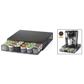 Nifty 6410 Satin Black Single Drawer Coffee Pod
