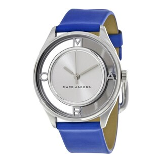 Marc Jacobs Women's MJ1458 Thther Silver Watch