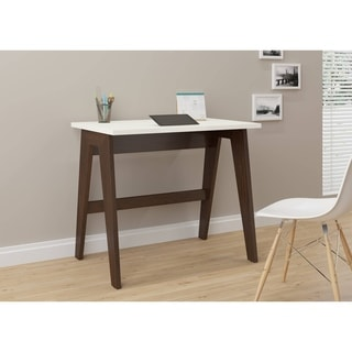 Contemporary Office Desk - Black Top