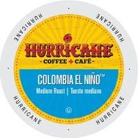 Hurricane Coffee And Tea Colombia El Nino Medium Rainforest Alliance Coffee Single-serve Portion Pack for Keurig K-Cup Brewers